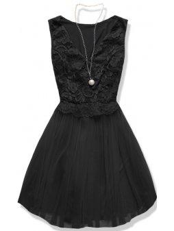 Dámské šaty Něžnost černé