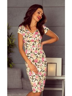 107 10 alice comfy everyday dress for days roses on ecru