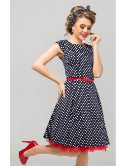 Dámské šaty Polka černé
