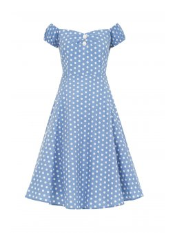 dolores vintage polka dot doll dress p3962 131833 zoom