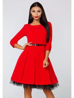 Dámské šaty Podzim červené