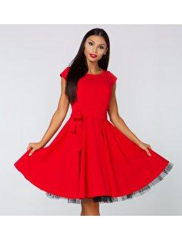 Dámské šaty Radost červené
