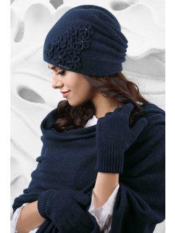 Dámský klobouček Jassy modrý