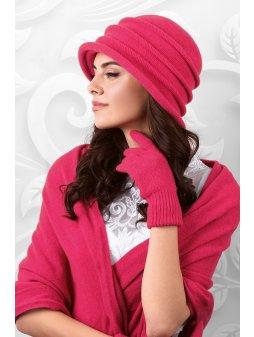 Dámský klobouček Palermo malinový