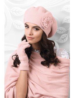 Dámský baret Vicenza růžový