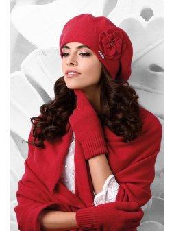 Dámský baret Vicenza červený