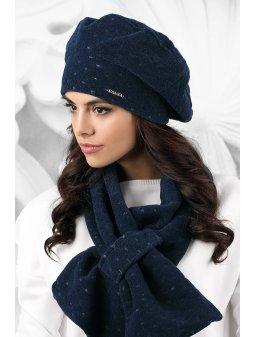 Dámský baret Carbonia modrý