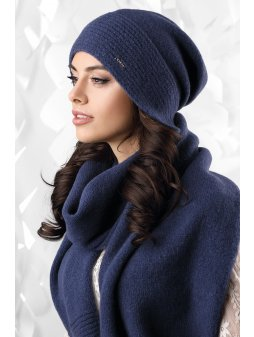 Dámská čepice Ravenna modrá