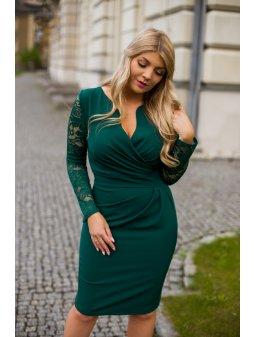 Dámské šaty Andalusie zelené