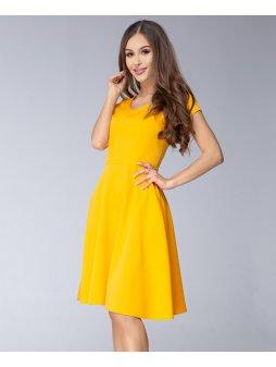 Dámské šaty Mentos žluté