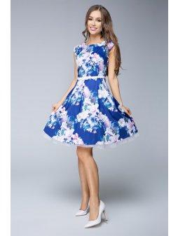 Dámské šaty Květinová oáza
