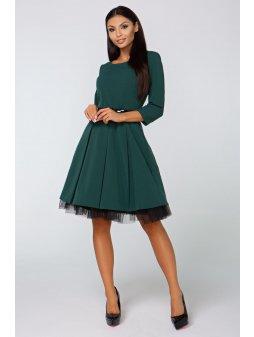 Dámské šaty Podzim zelené