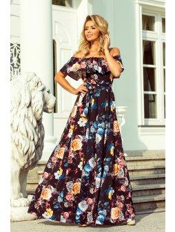 194 3 dluga suknia z hiszpansk 8868