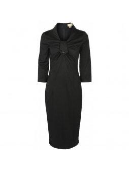 Dámské pouzdrové retro šaty Mia černé