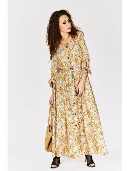 dluga sukienka w kwiaty 8135 (5)