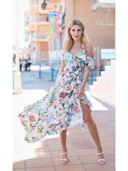 kopertowa sukienka maxi z falbanami (1)