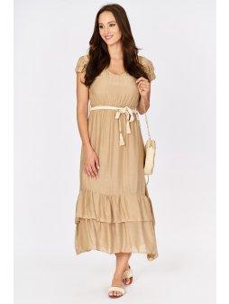 sukienka maxi z jedwabiem (4)