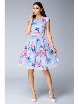 Dámské šaty Pohádka modré