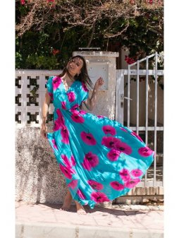 Dámské maxi šaty Curacao