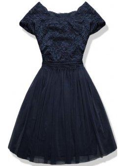 Dámské šaty Něha modré