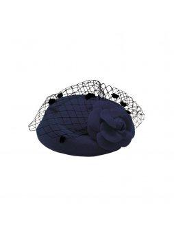 Dámský klobouček Jemina modrý