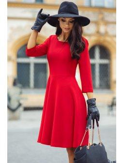 Dámské šaty Listopad červené