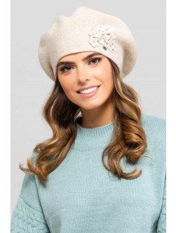 KAMEA ARIZONA beret damski bezowy(4)