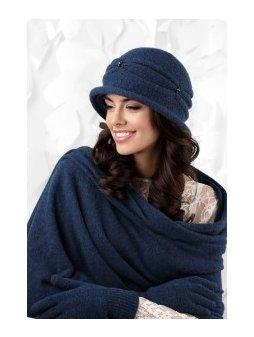 KAMEA VERONA kapelusz damski jasnogranatowy