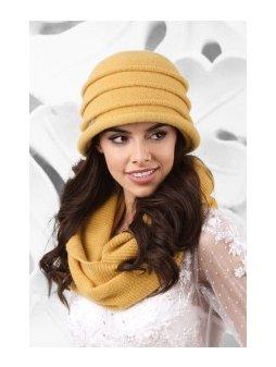 KAMEA PALERMO kapelusz damski miodowy