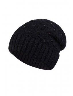 VALERI czapka damska czarna