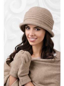 KAMEA SALERNO kapelusz damski bezowy(1)