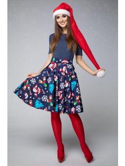 Dámská sukně Veselé Vánoce