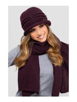 KAMEA VERONA kapelusz damski fioletowy