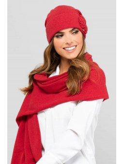 KAMEA HAWAJE czapka damska czerwona