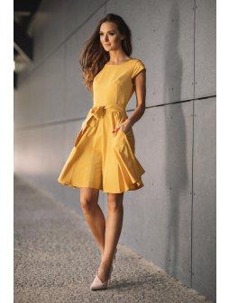 Dámské šaty Radost žluté