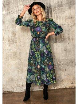 sukienka midi green garden (3)