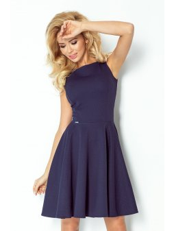 Dámské šaty Michaela modré (Velikost L)