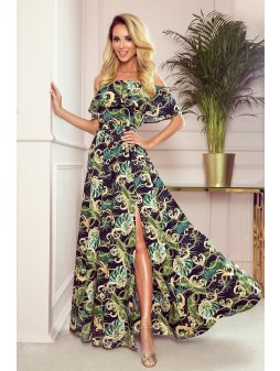 194 4 dluga suknia z hiszpans 10519