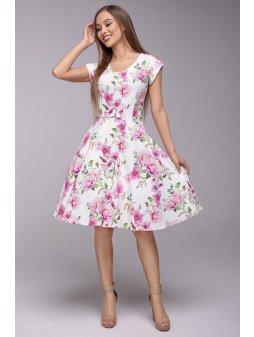 Dámské šaty Flamenco čajová růže