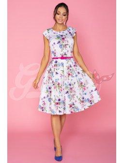 Dámské šaty Klaudie Jaro - prodloužená délka