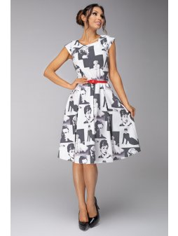 Dámské šaty Marilyn - prodloužená délka
