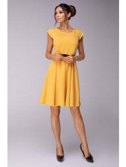 Dámské šaty Sladkost žluté