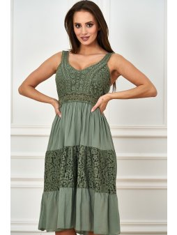 sukienka midi z koronka (11)