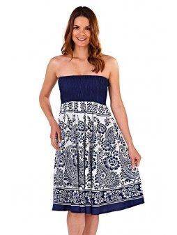 Dámské letní šaty/sukně 3v1 Grace modré