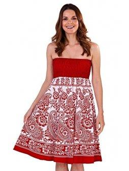 Dámské letní šaty/sukně 3v1 Grace červené
