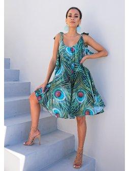Dámské šaty Paví pera