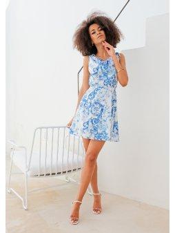 Dámské šaty Léto Porcelán