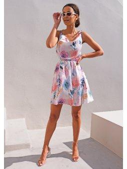 Dámské šaty Léto Akvarel