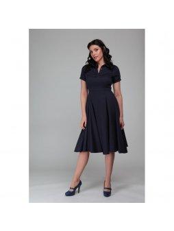 Dámské retro šaty Mirtilla modré