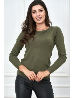 gladki sweter z kolekcji basic (5)
